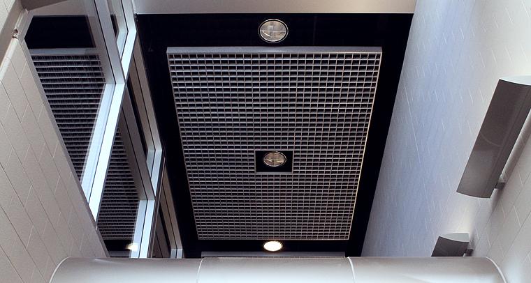 потолок грильято фото